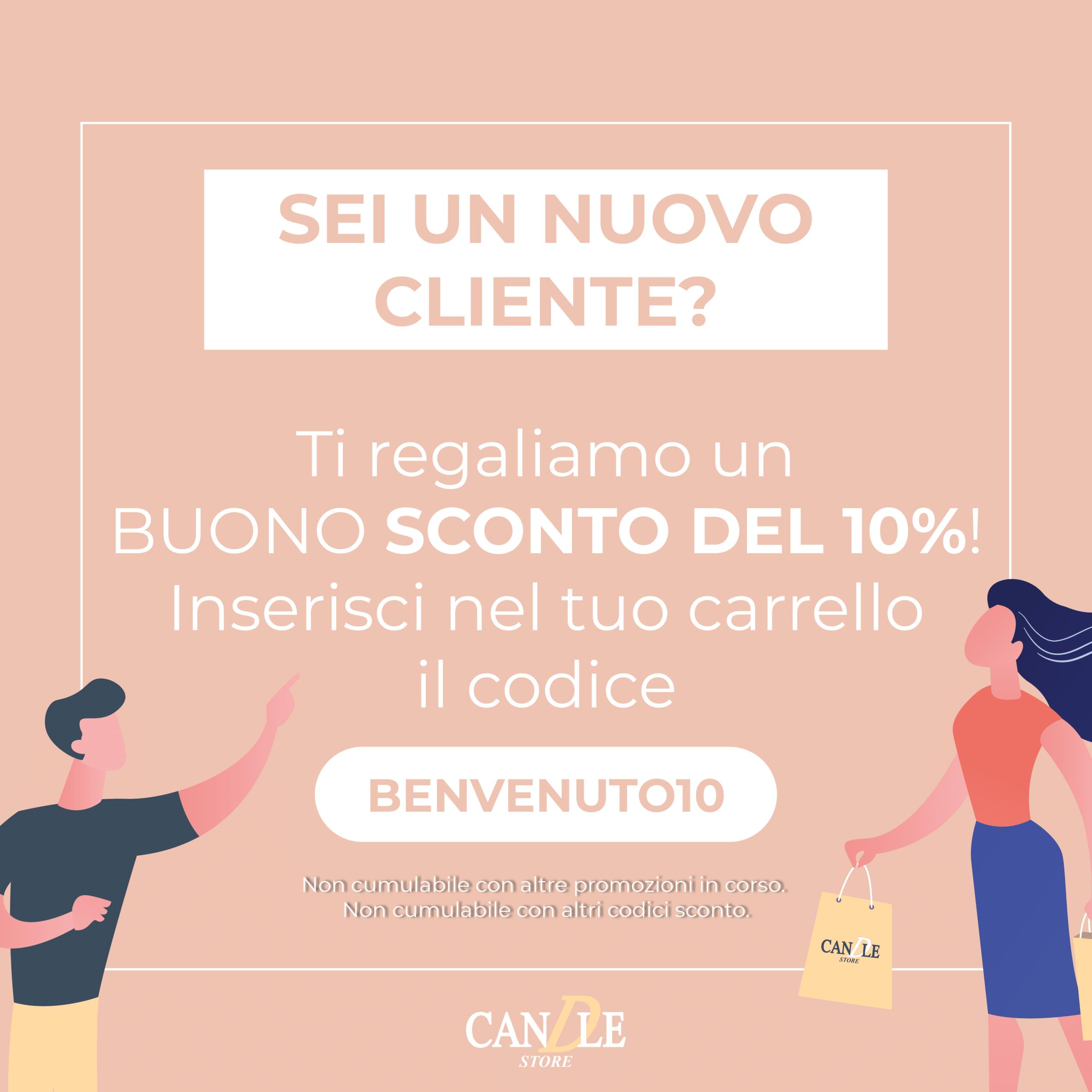 Buono Sconto Nuovo Cliente - Candle Store