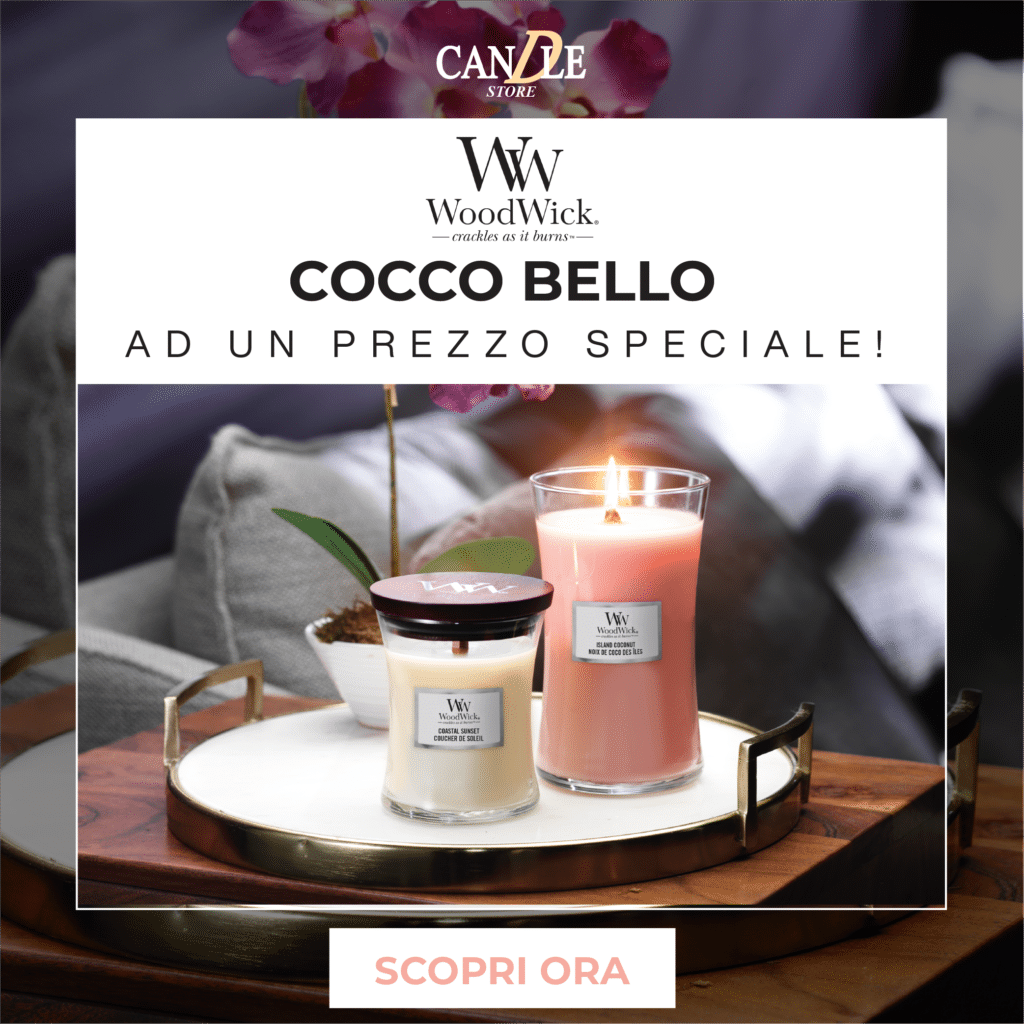 WoodWick Candle Candele Offerta Del Mese Giugno 2021 - Candle Store