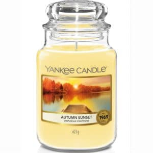 Yankee Candle Autumn Sunset Giara Grande 623gr - Candle Store