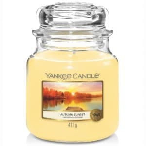 Yankee Candle Autumn Sunset Giara Media 411gr - Candle Store