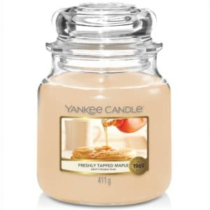 Yankee Candle Freshly Tapped Maple Giara Media 411gr - Candle Store