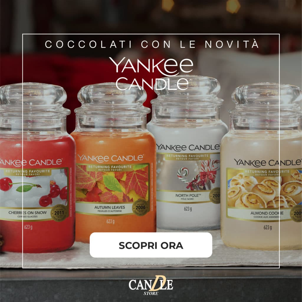 Candele Yankee Candle 2021 - Candle Store