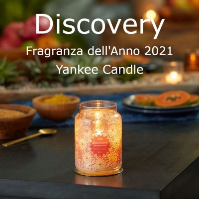 Discovery Fragranza dell'Anno 2021 Yankee Candle - Candle Store