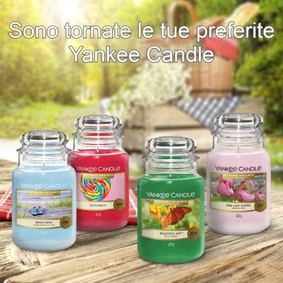 Returning Favourites Yankee Candle - Candele In Edizione Limitata 2021 - Candle Store