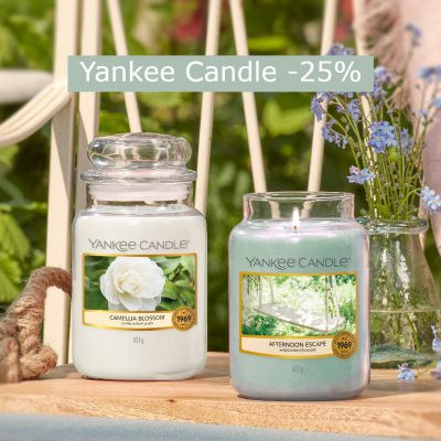 Yankee Candle Sconto 25% - Candle Store